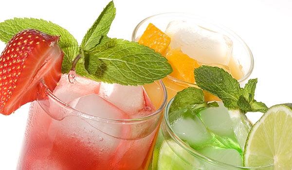 Egészséges frissítő nyári italok