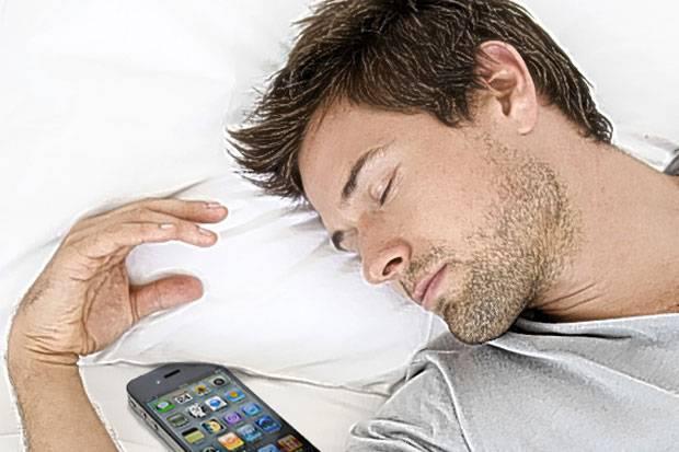 Feküdjön le a mobiljával!