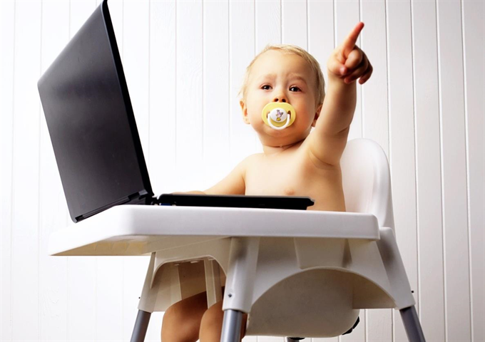 A digitális világ és a kicsik